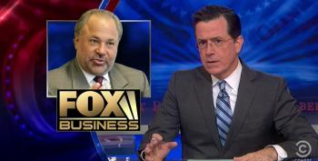 Colbert Destroys Fox Pundits For Feigned Outrage Over Obama's Visit To China