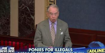 Fox Talkers Amplify Fussy Chuck Grassley's Ire Over Humane Treatment Of Immigrant Children