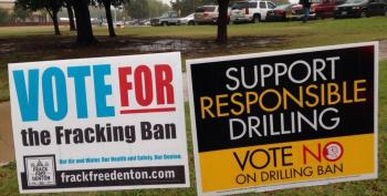 Texas Officials To Denton Residents: Take Your Fracking Ban And Shove It