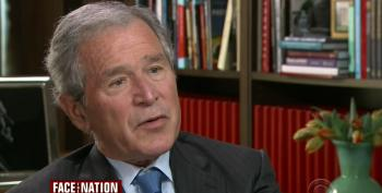 Dubya Has 'No Regrets' Over Decision To Invade Iraq