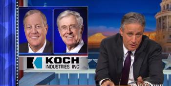 So The Kochs Began Advertising On The Daily Show