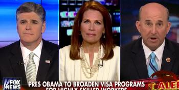 The Battle Of The Dimwits: Gohmert And Bachmann On Hannity