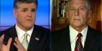 Hannity Pre-Blames Obama For Any Violence In Ferguson
