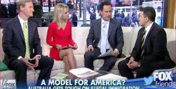 Fox And Friends Praise Australia's Mistreatment Of Immigrants