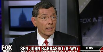 Sen. Barrasso Pretends Republicans Need An Excuse For Continued Obstruction