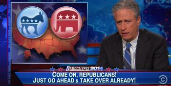 Jon Stewart Slams Republicans For Fearmongering And Voter Suppression To Win Midterms