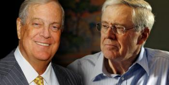 Democrats Suddenly Realize Koch Bros. Machine Is Actually Dangerous