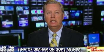 Lindsey Graham Accuses President Obama Of Acting Like A 'Spoiled Child'
