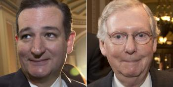 And The Distance Between Cruz And McConnell Is How Far, Exactly?
