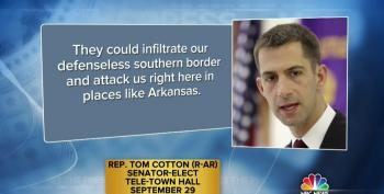 Sen. Tom Cotton (R) Continues To Use Fearmongering To Tie Immigration To Terrorism