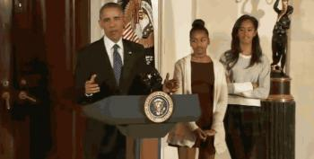 GOP Staffer Attacks Obama's Daughters As 'Classless' Americans