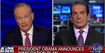 Bill-O Tries To Get Krauthammer To Call President Obama 'A Bad Person' Following Immigration Speech