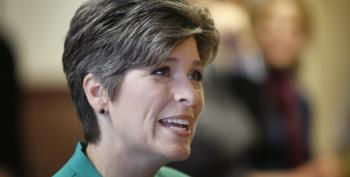 Joni Ernst Tells Charlie Pierce It's His 'Opinion' Only One Person In America Has Ebola