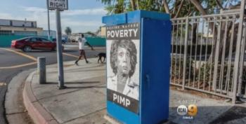 Maxine Waters Target Of Racist 'Poverty Pimp' Posters