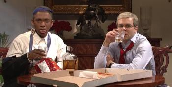 SNL Pokes Fun At Obama McConnell Bourbon Summit