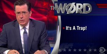 Colbert Warns GOP Leadership On Calls For Them To Govern: 'It's A Trap!'