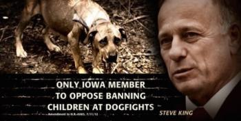 Steve King Believes What He Wants To Believe, Dammit!