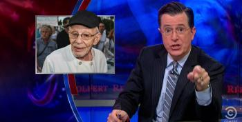 Colbert Whacks Ft. Lauderdale For Arresting 90-Year-Old Man For Feeding The Homeless