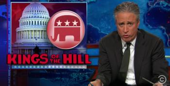 Stewart Roasts Democrats For Running Away From Obama During Midterms