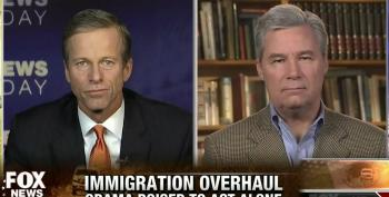 Thune Keeps Threat Of Government Shutdown Over Immigration Alive