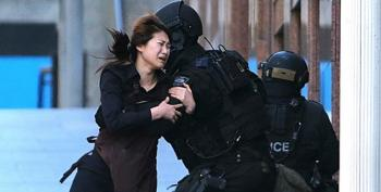 Hostages Held By Extremists In Australia Cafe