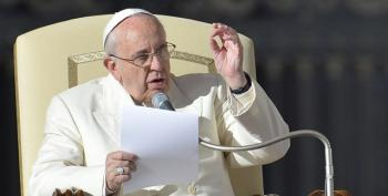 Pope Frank Lets Vatican Curia Have It For 'Spiritual Alzheimer's'
