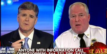 Ferguson Police Chief Runs To Hannity For Round Of Race-Baiting