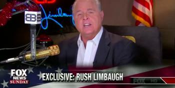Rush Limbaugh Melts Down On Fox News Sunday