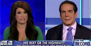 Krauthammer Begins 2015 Policy Indoctrination Process