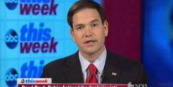 Marco Rubio Attacks Rand Paul As 'Chief Cheerleader Of Obama's Foreign Policy'