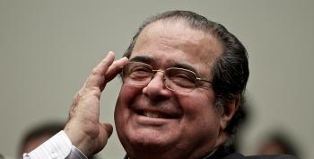 Justice Antonin Scalia's Hypocrisy On Parade