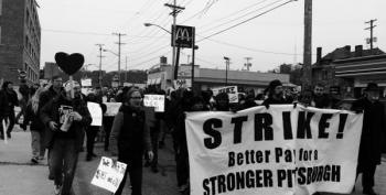 Nationwide Fight For $15 Went On Strike Yesterday In 190 Cities