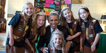 President Obama Sports Crown, Infuriates Right Wingers