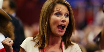 Obama's Approval Ratings Rose, So Michele Bachmann Stepped In With Some Hate