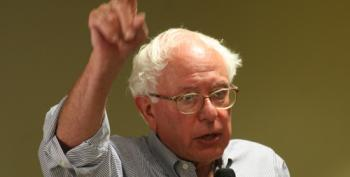 Bernie Sanders Lays Down The Gauntlet