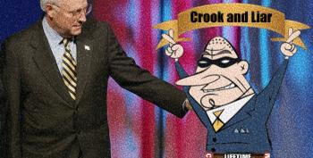The Lifetime Achievement Award For Crookedness And Lies Goes To... Dick Cheney!
