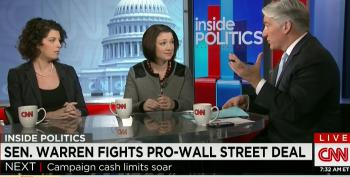 CNN Pundits Insist 'Elizabeth Warren Caucus' Is Too Small To Have Any Influence On Spending Bill