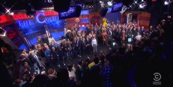 Colbert Gets Massive Celebrity Send-Off On Final Show