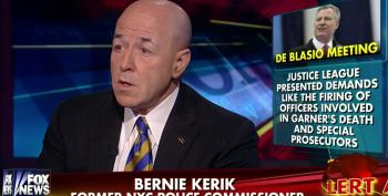 Fox Brings On Convicted Felon Bernard Kerik To Attack Mayor DeBlasio For Meeting With Protesters