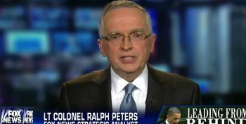 Fox's Ralph Peters Calls President Obama A Child For Ending Combat Mission In Afghanistan