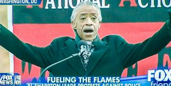 'Fox & Friends' Falsely Edits Sharpton's Anti-violence Speech With Clips Of 'Dead Cops' Chant