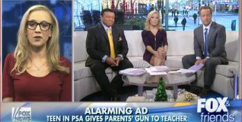 Anti-Gun PSA Gets Ripped Apart By Fox News' Ammosexuals