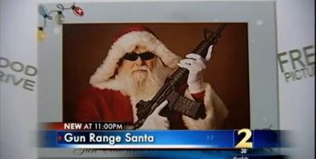 The Spirit Of Christmas Is Santa Holding Your Kid -- And An AK-47!