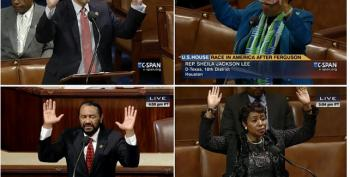 'Hands Up' As Members Of Congress Express Outrage About Michael Brown