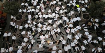Medical Students Across U.S. Stage 'Die-Ins'