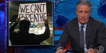 Jon Stewart Takes Apart Right Wing For Reaction To Garner Grand Jury Decision