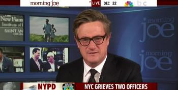 Joe Scarborough Blames 'Avalanche Of  Hate Speech' For NYPD Shootings