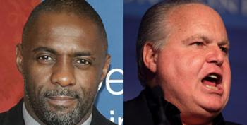 Rush Limbaugh Freaks Out About Idris Elba Playing James Bond