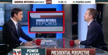 Chuck Todd Concern Trolls Over How Ferguson Will Impact Obama's Legacy