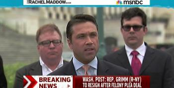 Rep. Michael Grimm (R-NY) To Resign After Felony Plea Deal